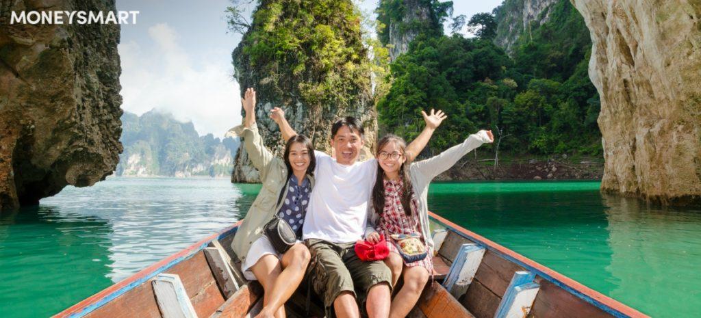 一家人去旅行