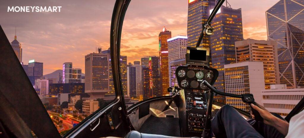 坐直升機遊香港 價錢比較   最平每位2250元