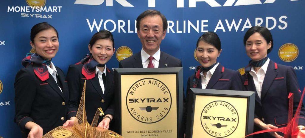 最佳經濟艙 日本航空