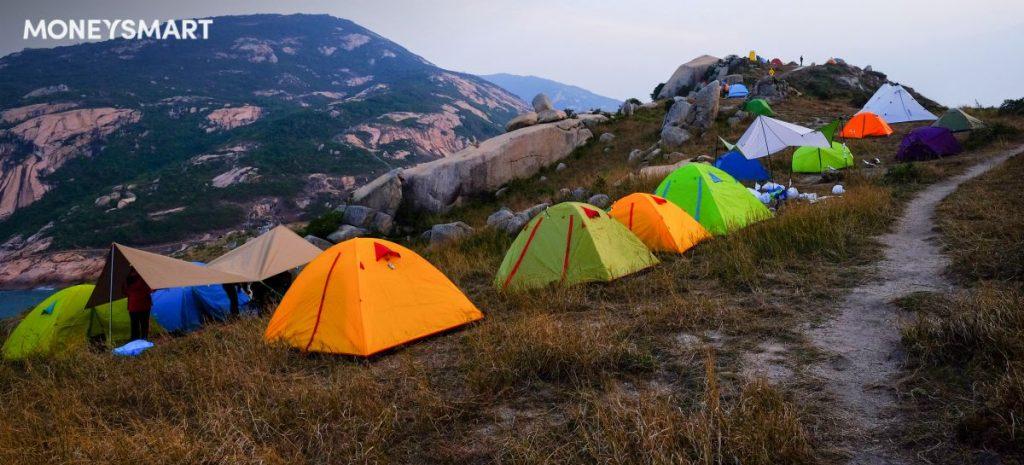 【 露營 新手入門 】855蚊買齊背包、營、爐、廚具、睡袋(有片)